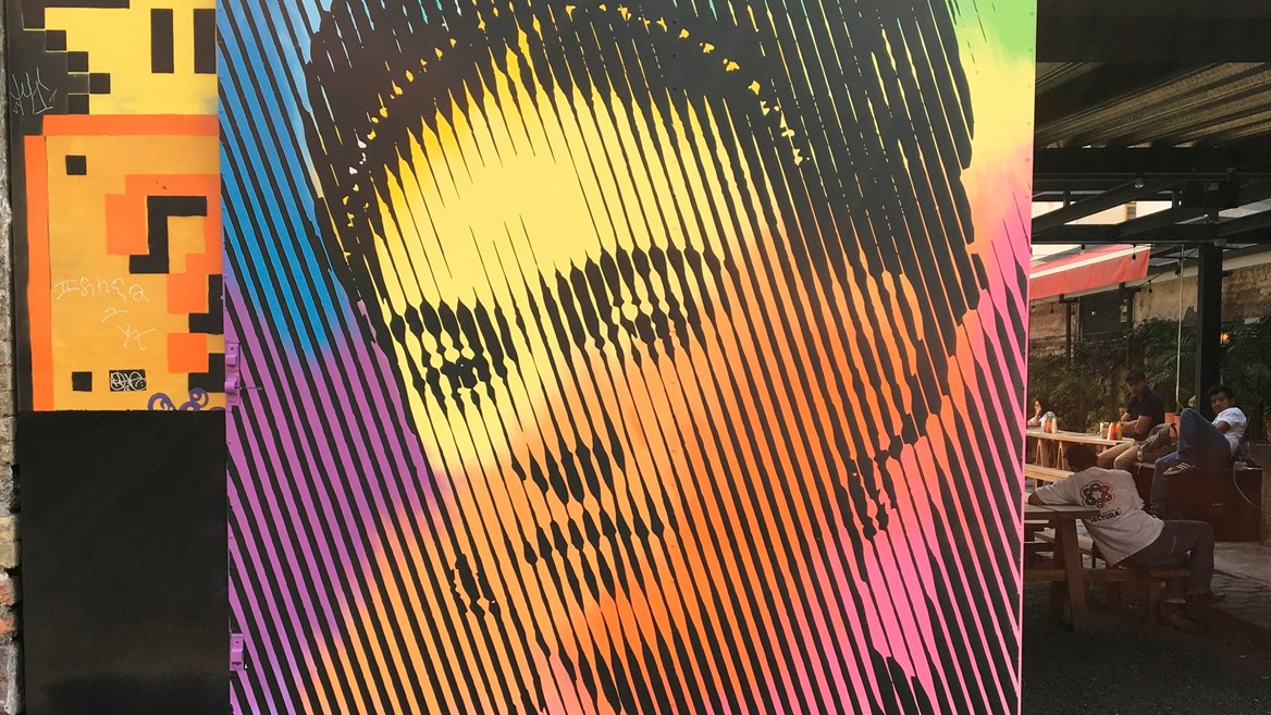Frida Kahlo is a muse for many street artist