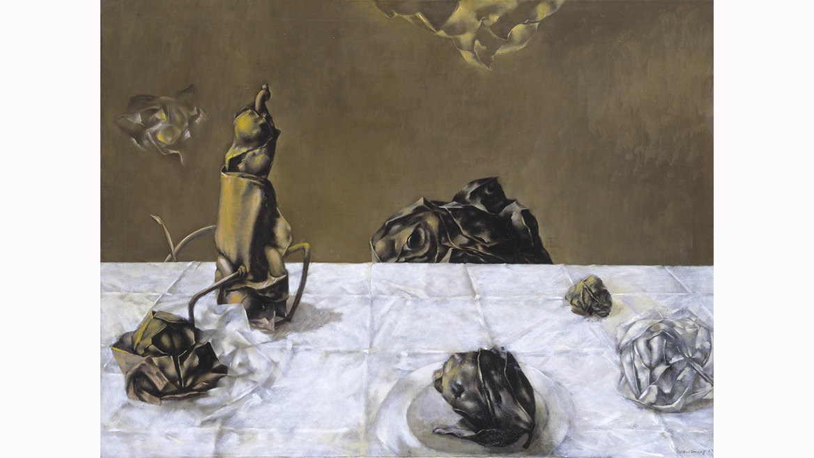 Some Roses and Their Phantoms by Dorothea Tanning