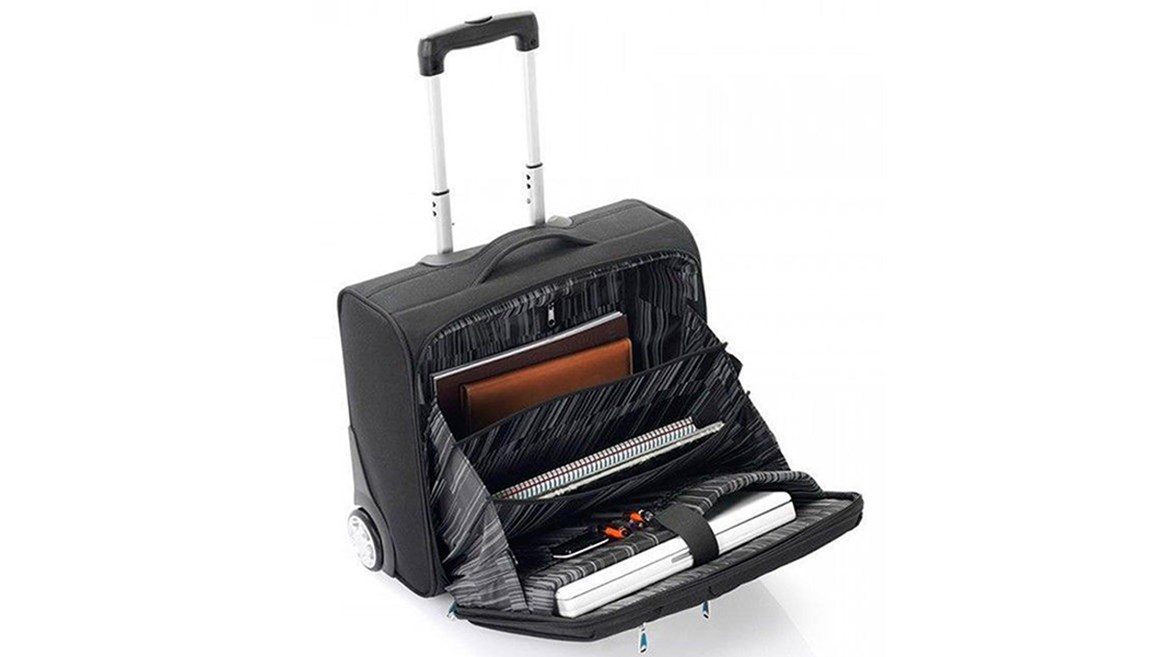 Briefcase with a compartment for your laptop and internal dividers