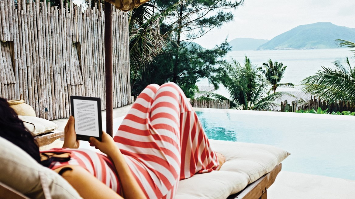 An e-book is the best partner for any trip