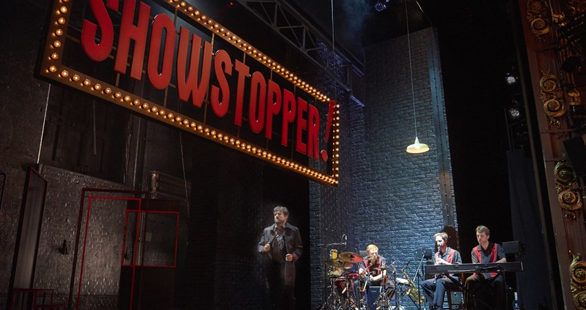 Showstopper the improvised musical londres
