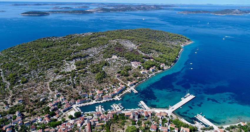 Zlarin is the first free island of disposable plastics in all of Croatia