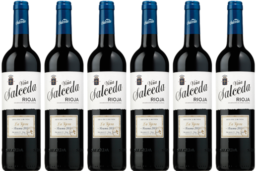 Get 450 Avios and enjoy, for only € 45 the box of 6 bottles of Viña Salceda La Tejera Reserva 2013