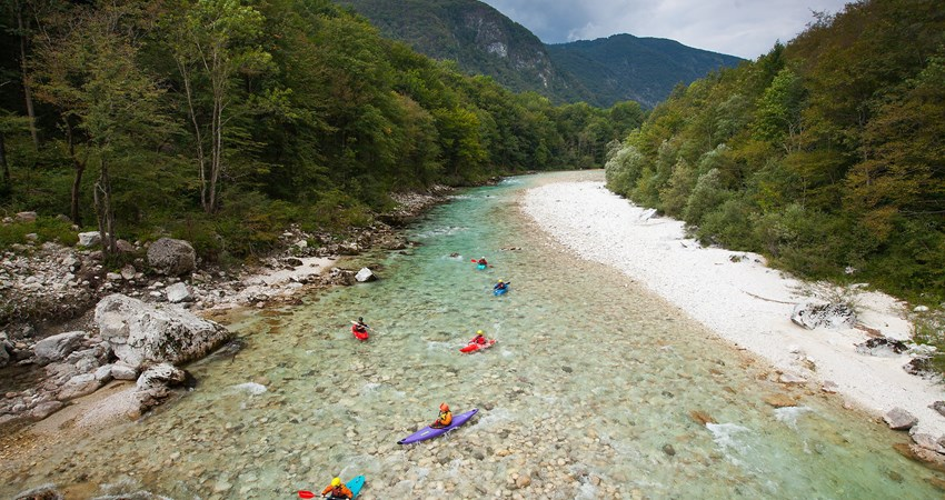 The Soča Valley, an idyllic region of Slovenia next to the border with Italy and the Julian Alps, birthplace of natural chef Ana Ros