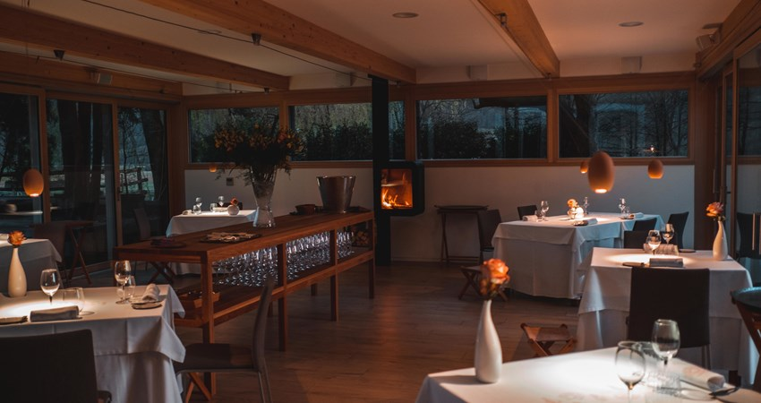 Ana Ros's restaurant, Hisa Franko, is located in the idyllic region of the Soca Valley in Slovenia