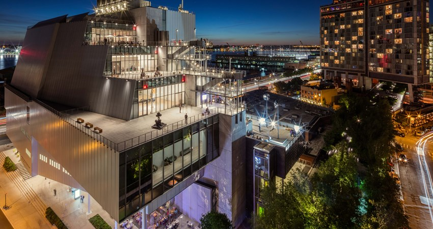 The Whitney Museum of American Art, in New York, a reference in the world of digital art