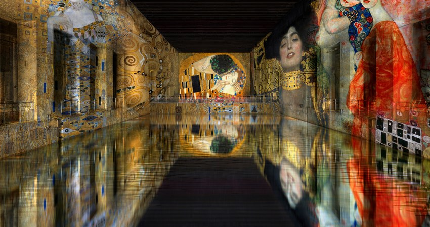 Bassins de Lumières will open in Bordeaux on April 17 to become the largest digital art center in the world