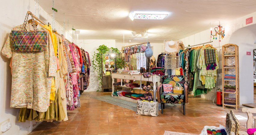 La Galería Elefante is a concept store in Ibiza that sells everything from fine and costume jewellery to decorations and its own line of clothing.
