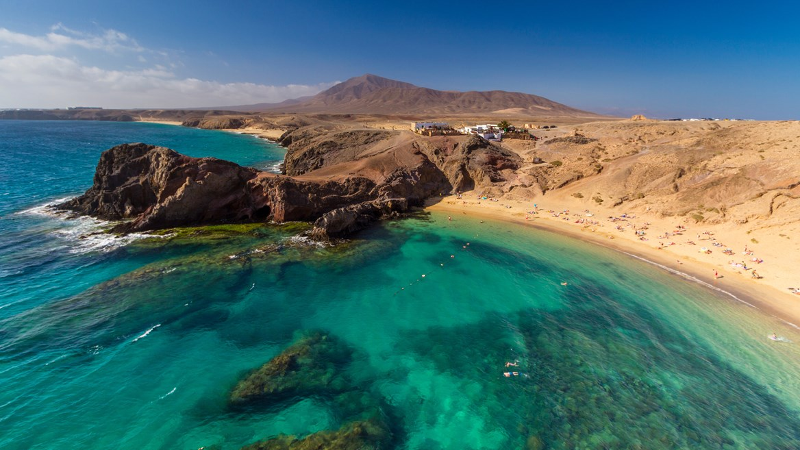 The Papagayo beaches in Lanzarote are considered the island's finest.