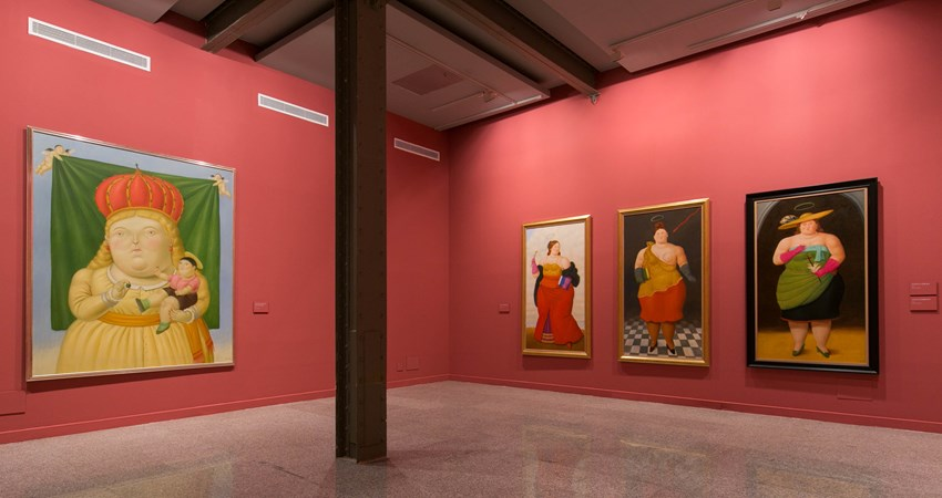 This autumn, don't miss Botero: 60 Years of Painting at CentroCentro (Madrid).