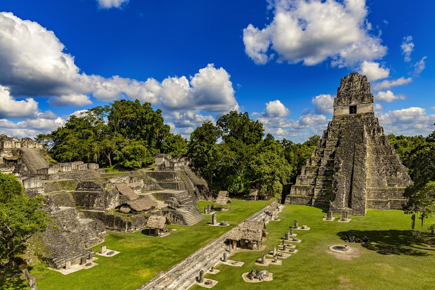Tikal is one of the largest cities of the ancient Mayan civilisation. For 800 years, it was buried in the rainforest.