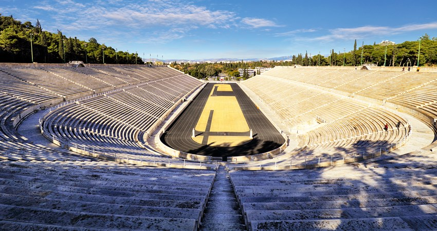 The Olympieion was reconstructed using marble to host the first modern Olympic Games in 1986, and is an essential stop on a journey through classical Greece.