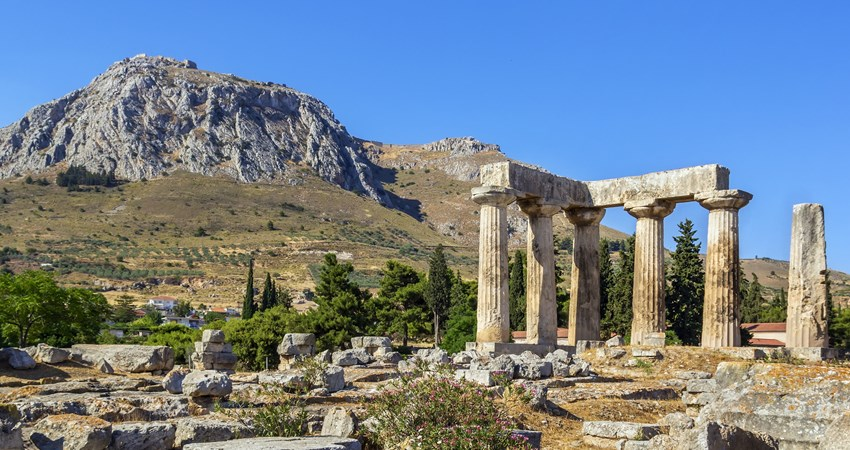 The Temple of Apollo in Ancient Corinth is an unmissable way to explore Ancient Greece.