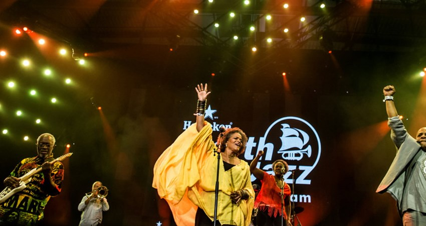 the gargantuan North Sea Jazz Festival, from 7-9 July in Rotterdam, sees more than 1,000 musicians across 14 stages